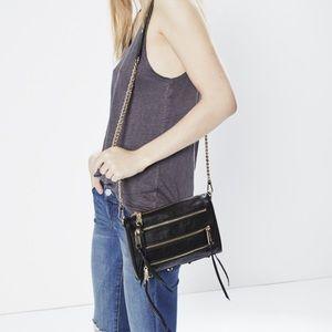 Rebecca Minkoff mimi 5 zip crossbody bag